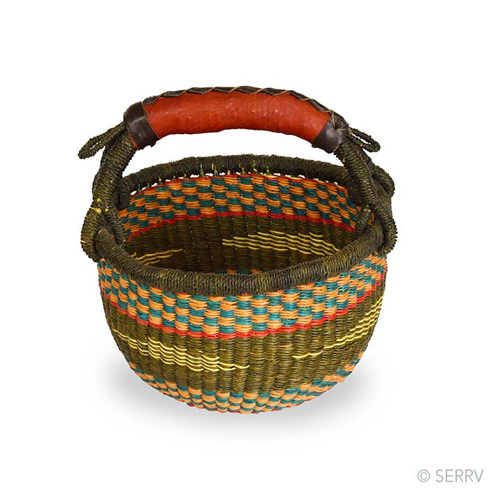 Small Round Peat Basket