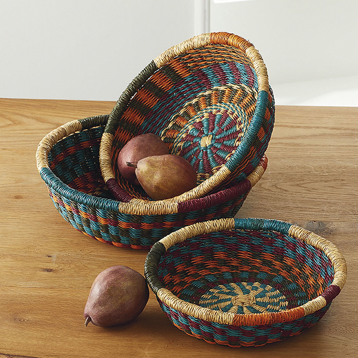 Nesting Spoke Baskets