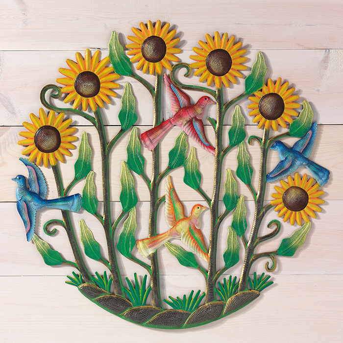 Sunflower Garden Wall Art
