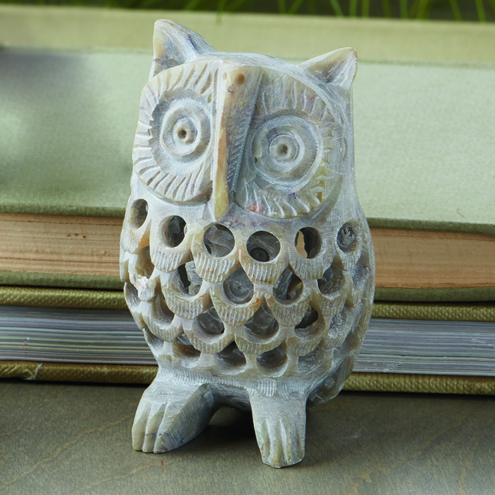 Double-Carved Gorara Owl
