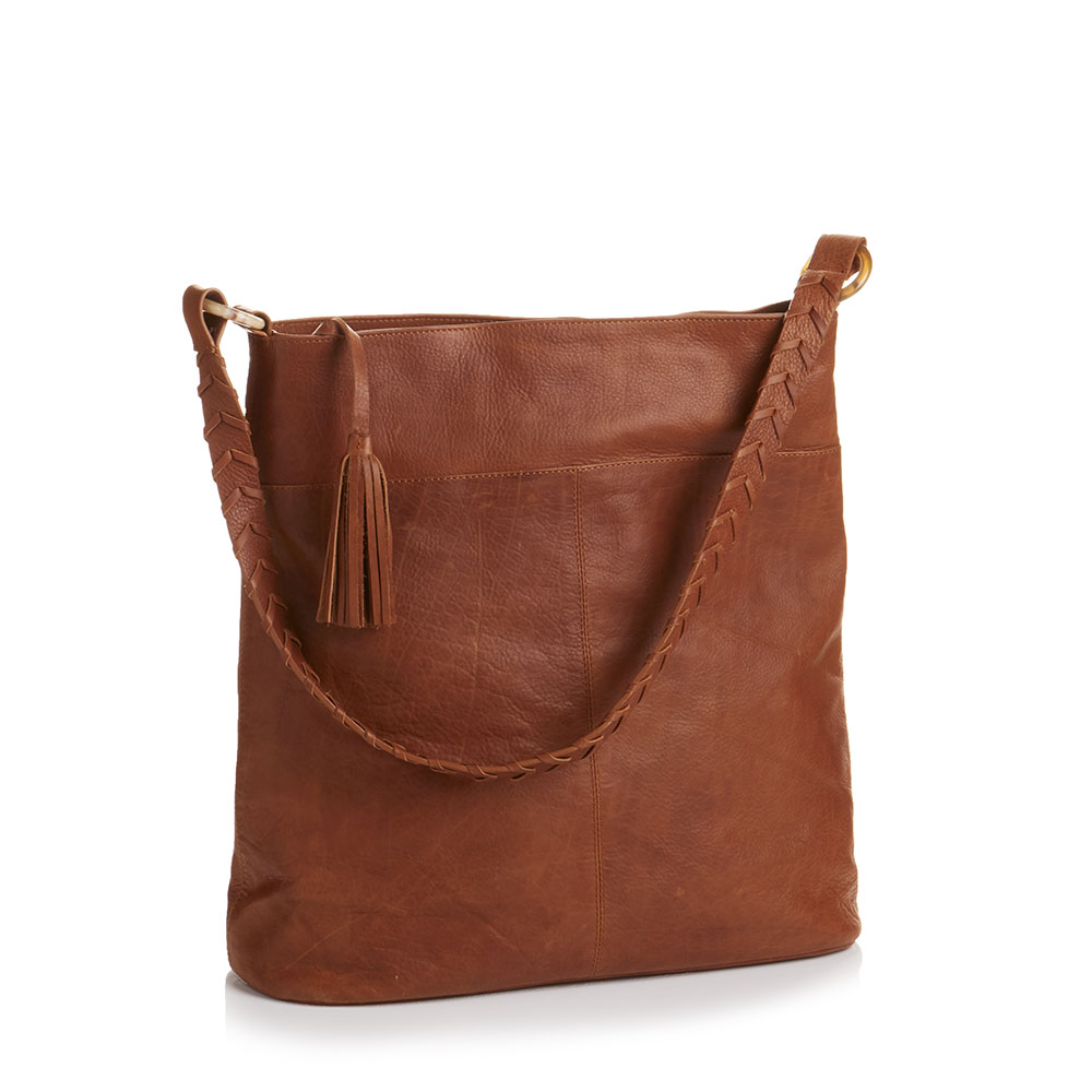 Elemental Leather Hobo Bag