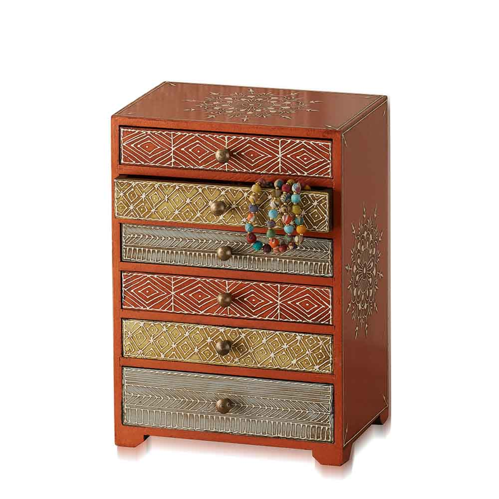Mango Mahamantra Jewelry Chest