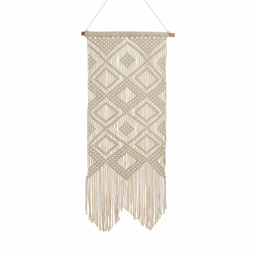 Long Macrame Wall Hanging
