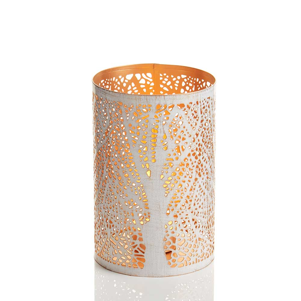 Medium White Birch Lantern