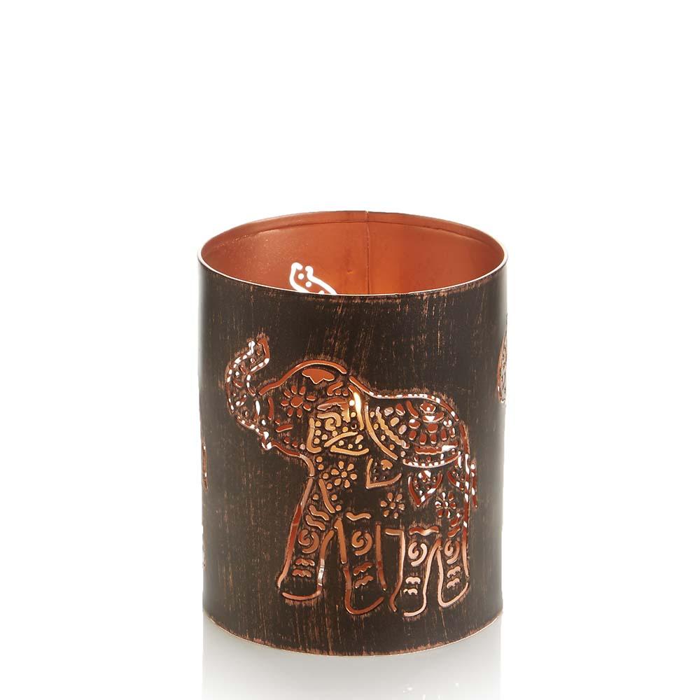 Elephant Iron Lantern
