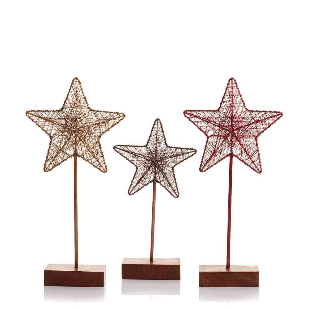 Festival Holiday Wire Stars