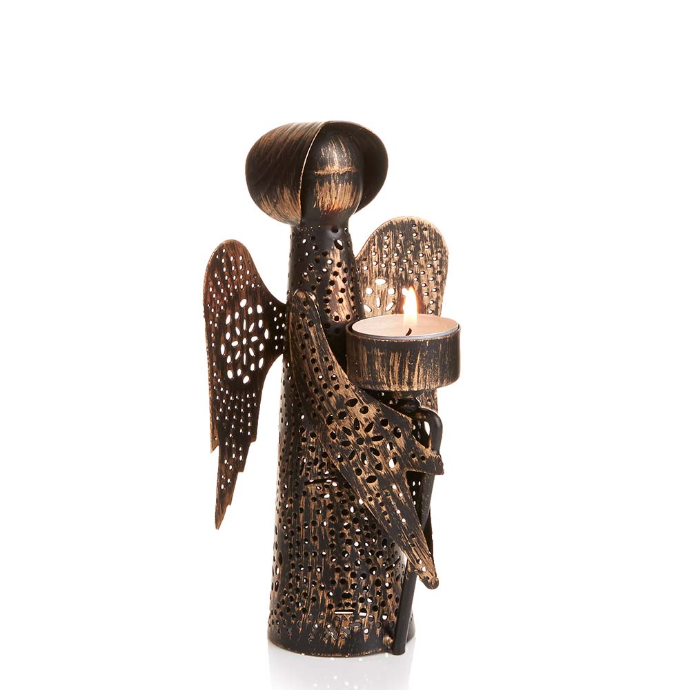 Small Angel Candleholder
