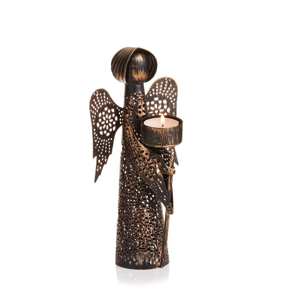 Medium Angel Candleholder