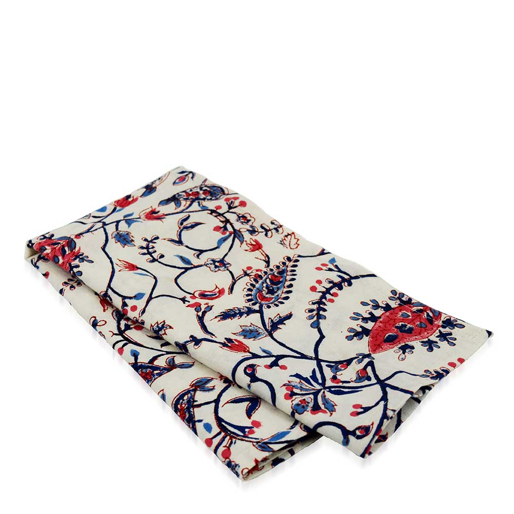 Floral Elegance Napkins Set of 2