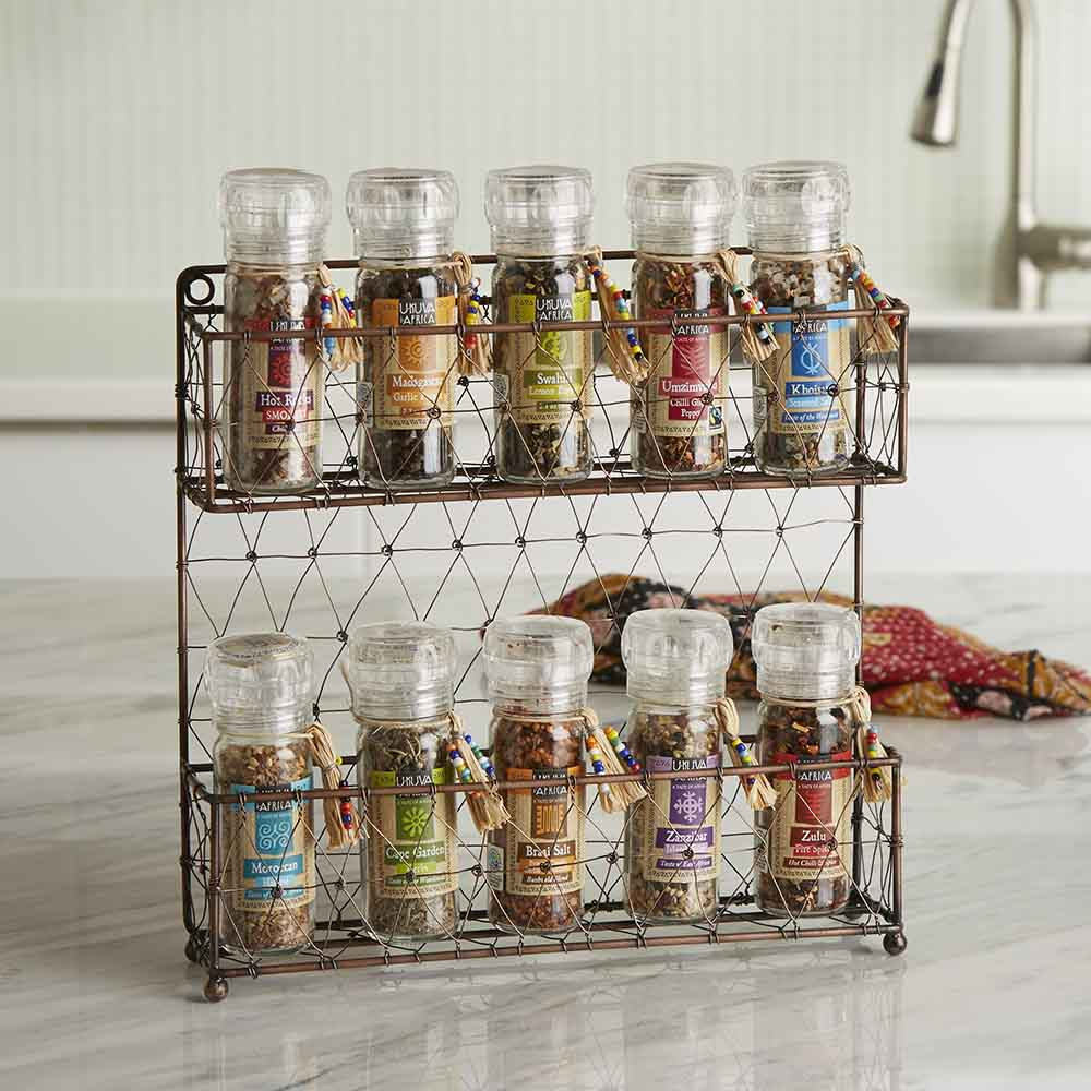 Loaded Spice Rack