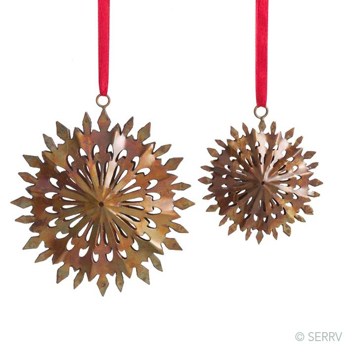 Duo Snowflakes Ornaments