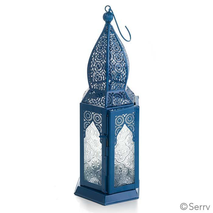 Large Moroccan Motif Metal Lantern