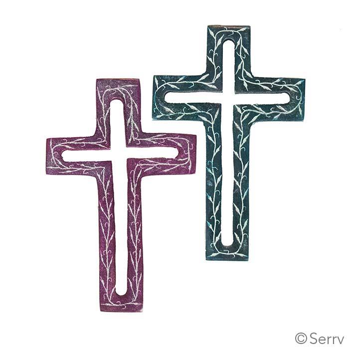 Stone Crosses Set