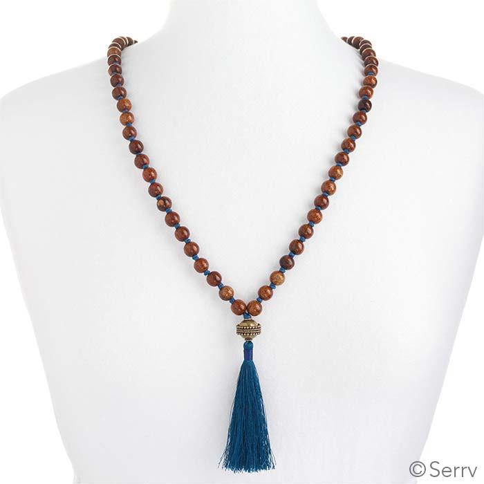 Delhi Tassel Necklace