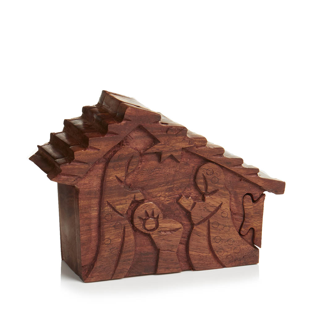 Nativity Puzzle Box