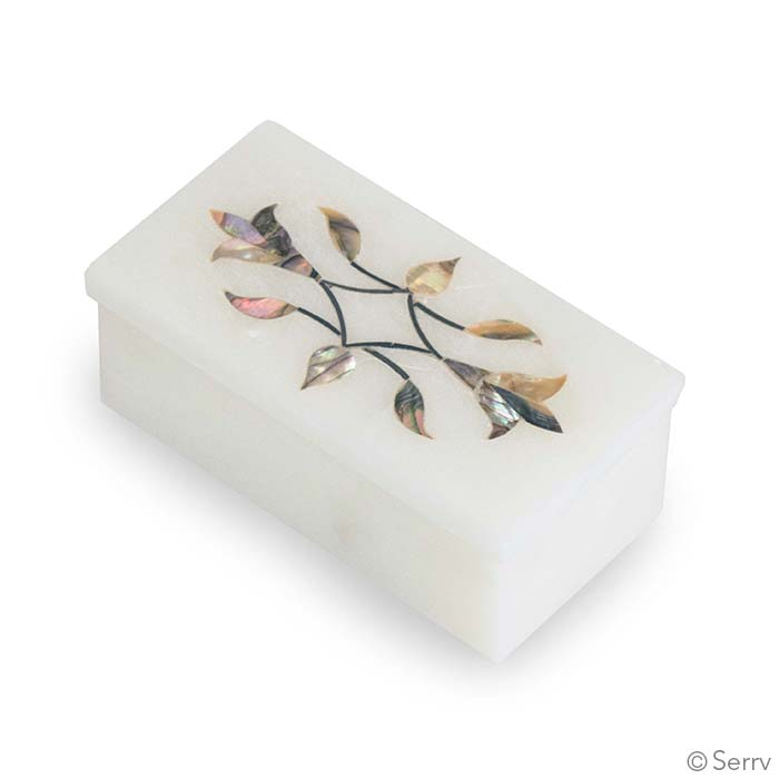 Blooming Vine Inlay Box