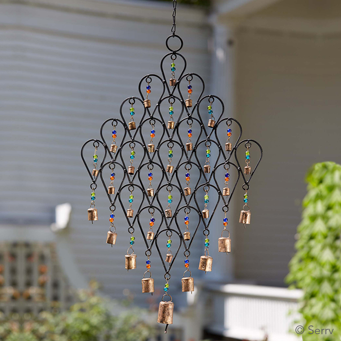 Beaded Lattice Wind Chime