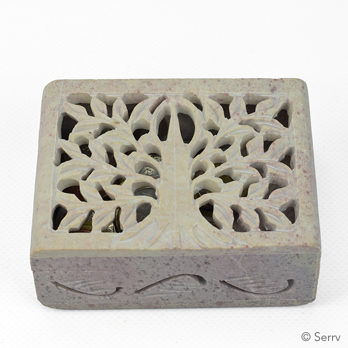 Tree of Life Stone Box
