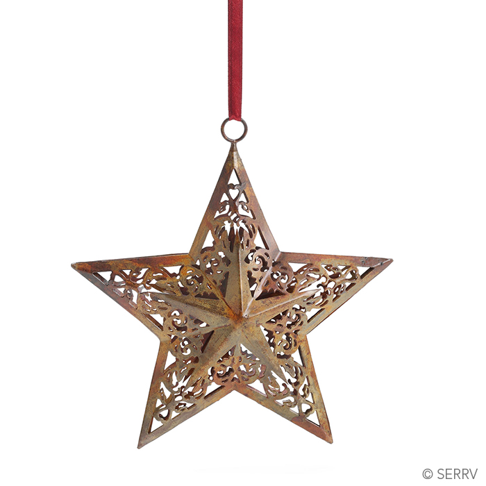North Star Iron Ornament