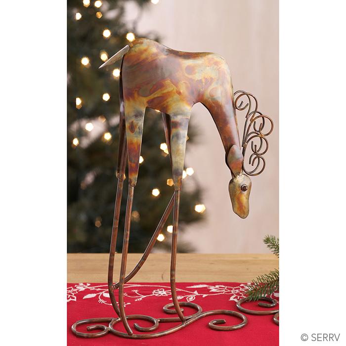 Heads Down Reindeer