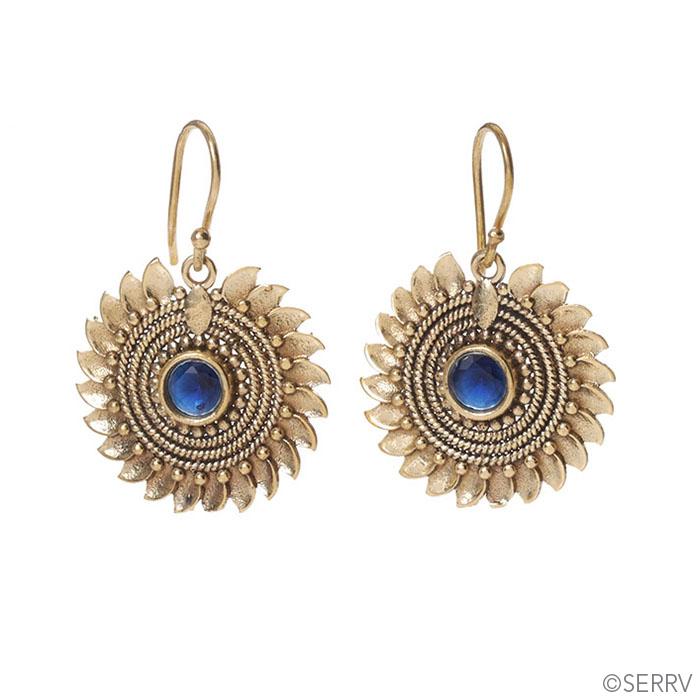 Radiant Sunflower Earrings