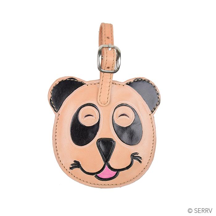 Smiling Panda Luggage Tag