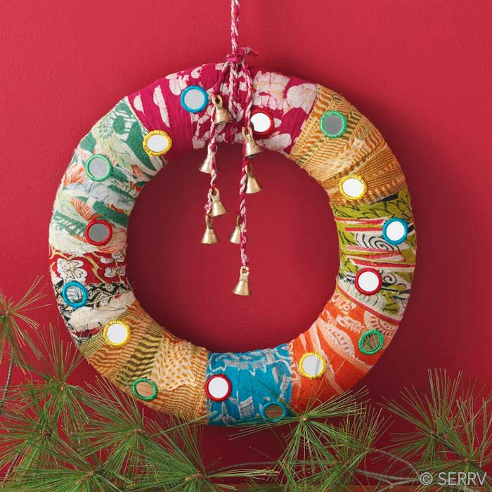 Patchwork Shisha Wreath