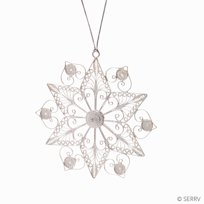 Filigree Snowflake Ornament