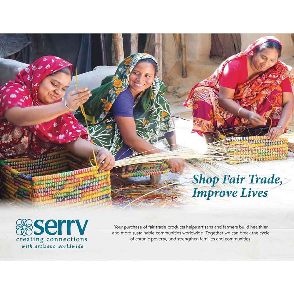 Serrv Sale Poster