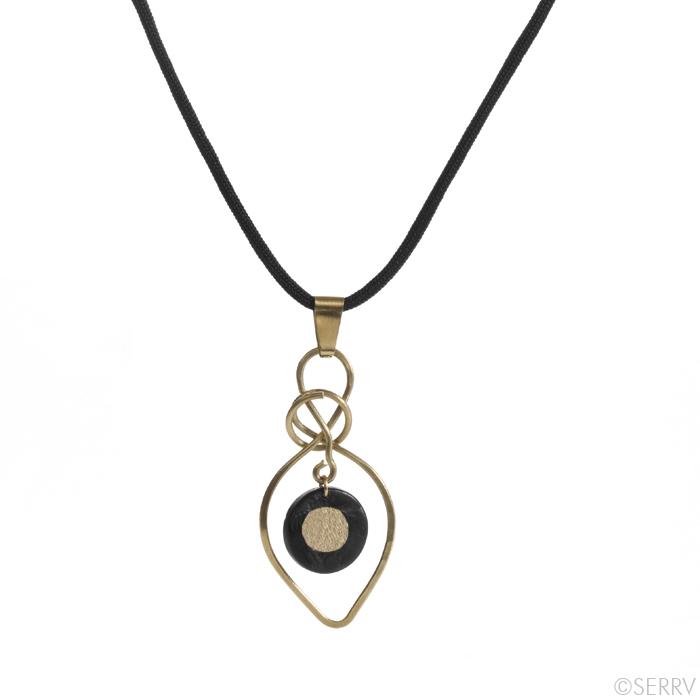 Coconut Drop Necklace
