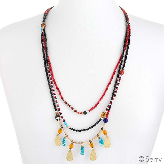 Maasai Layered Necklace