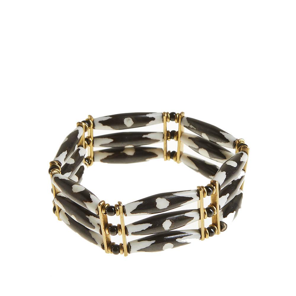 African Batik Stretch Bracelet