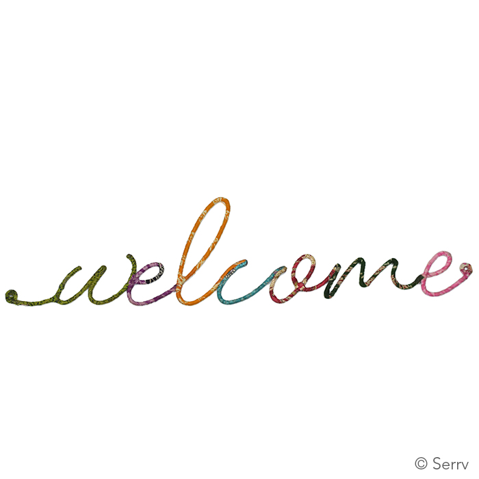 Welcome Wall Word