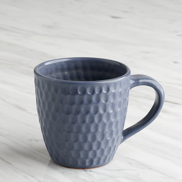 Smoky Violet Honeycomb Mug
