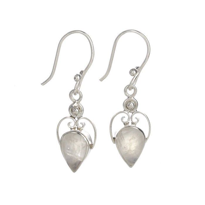 stone img sterling ear products beads of earrings wires moon with moonstone silver french