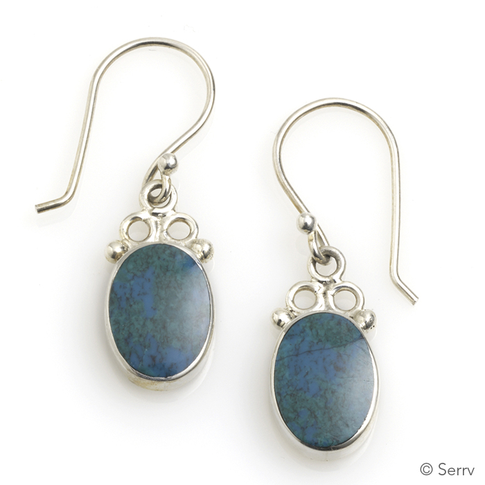 Andean River Drop Earrings