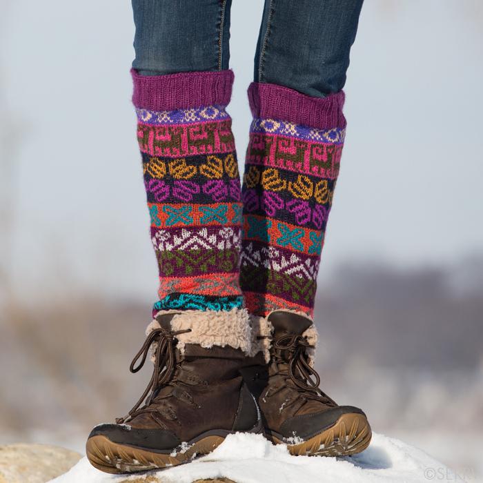 Winter Knits Amigas Leg Warmers