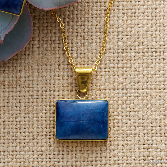 Azul Drop Pendant Necklace