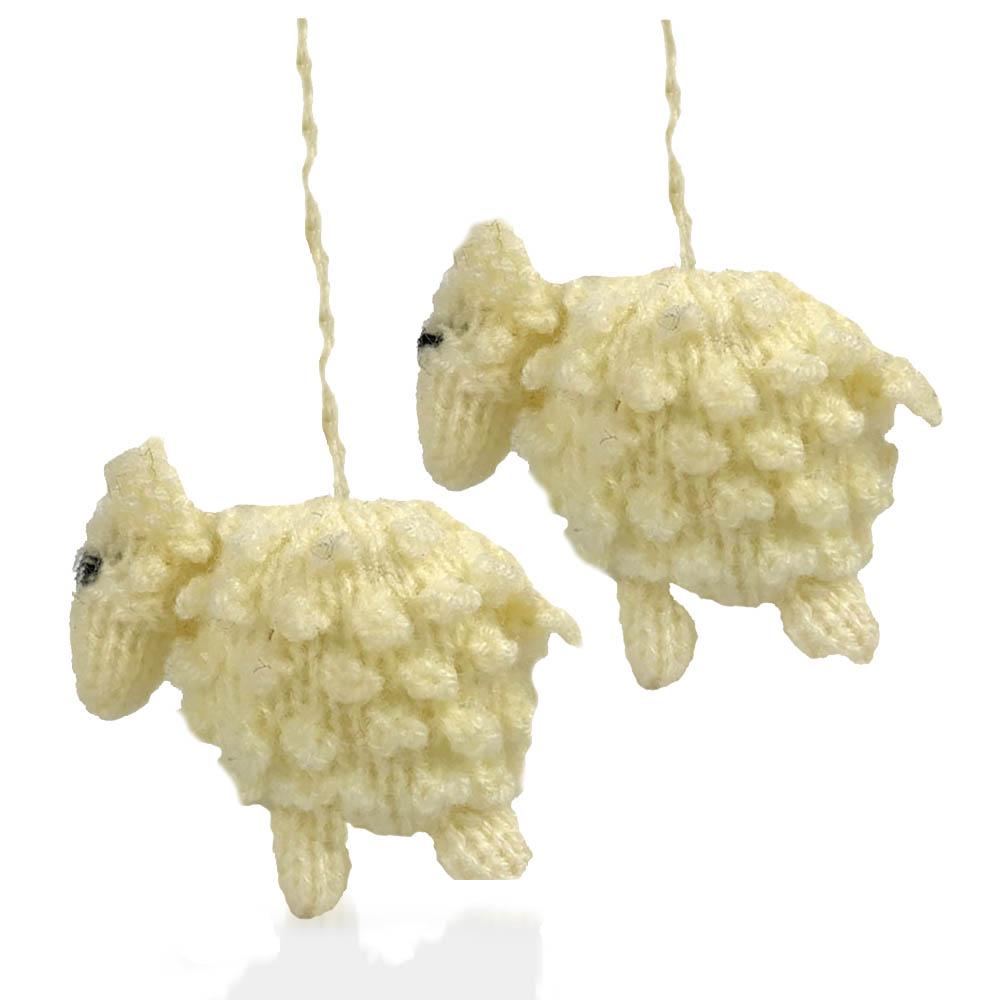 Highland Lamb Ornaments