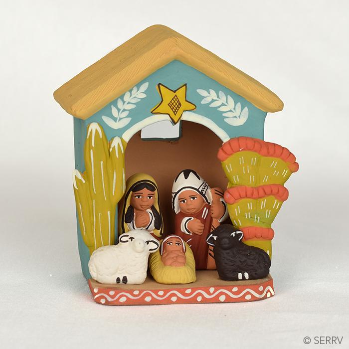 Peruvian House Nativity