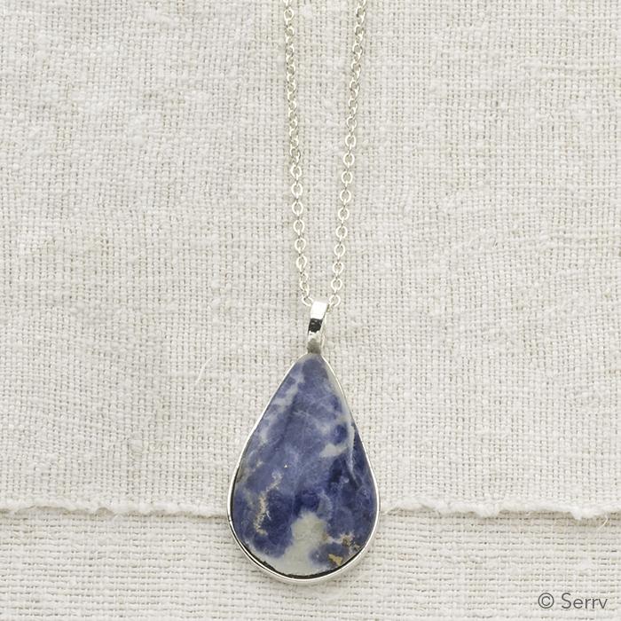 Blue Skies Pendant Necklace