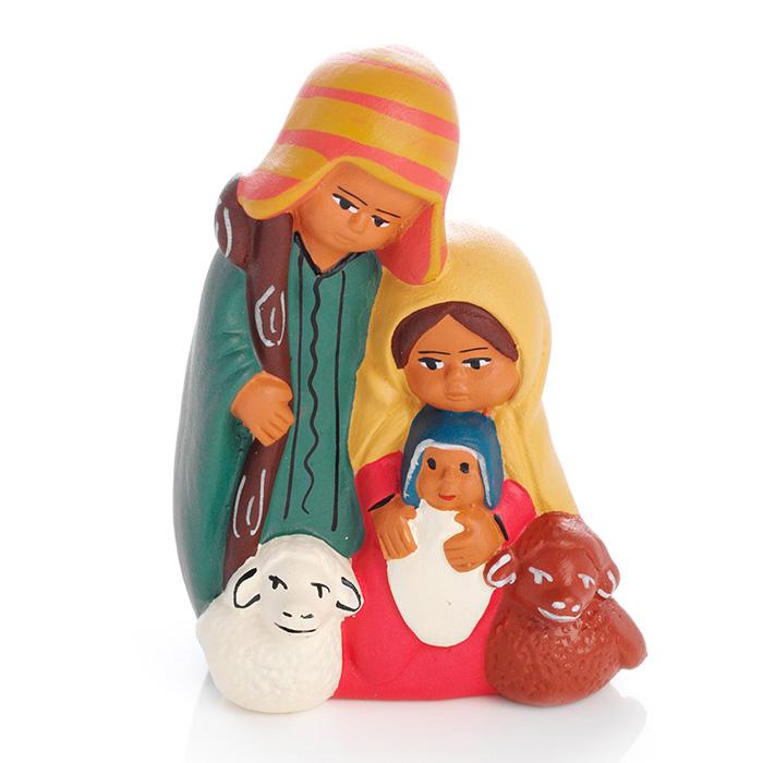 Petite Peruvian Holy Family