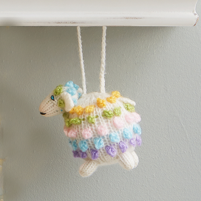 Highland Spring Lamb Ornament