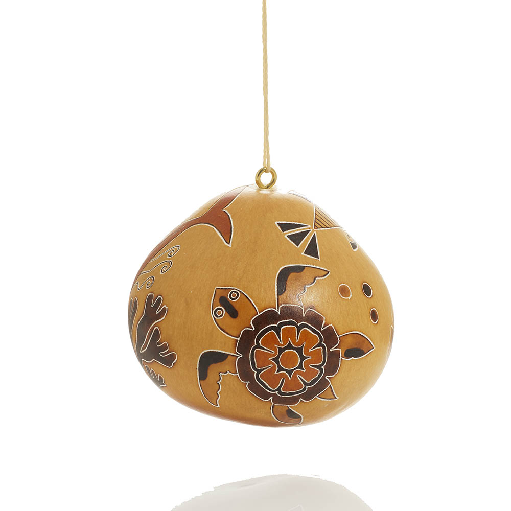 Under the Sea Gourd Ornament