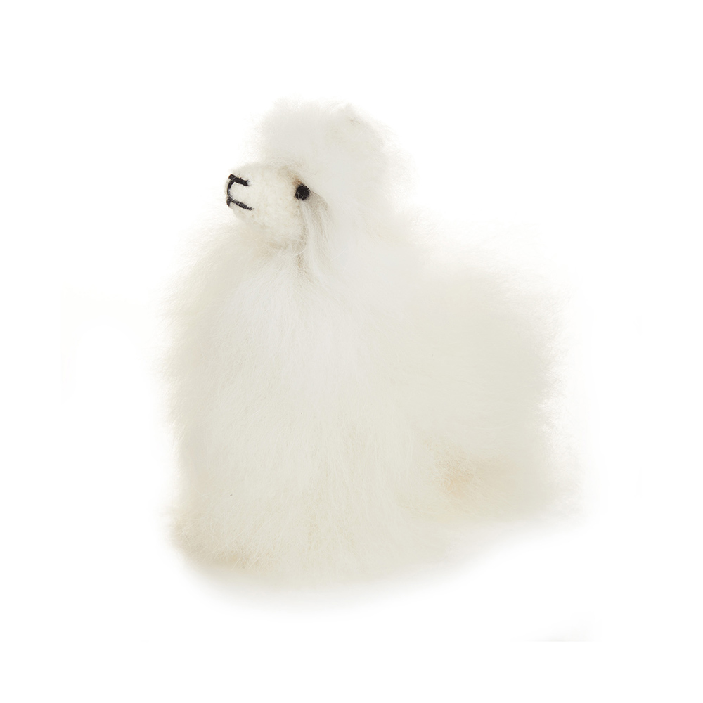 Highland Alpaca - Small White