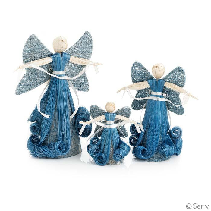 Blue Abaca Angels