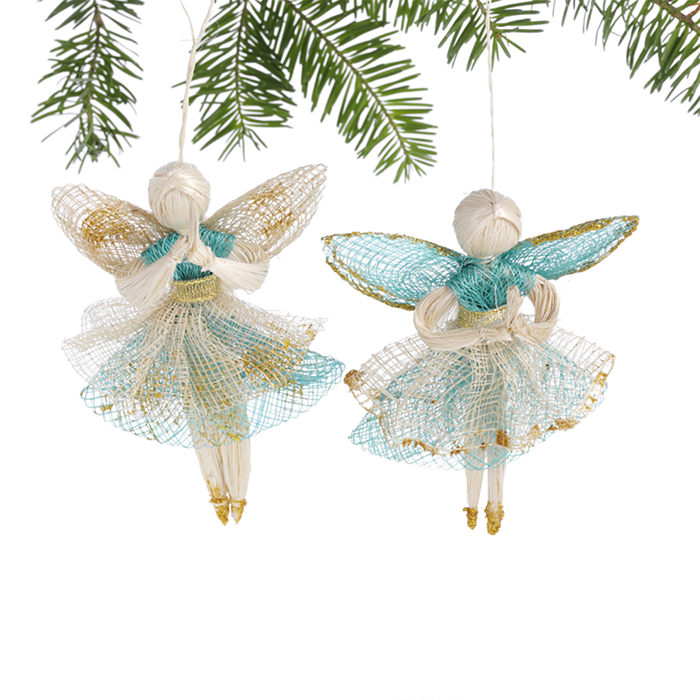 Praying Angels Ornament Set