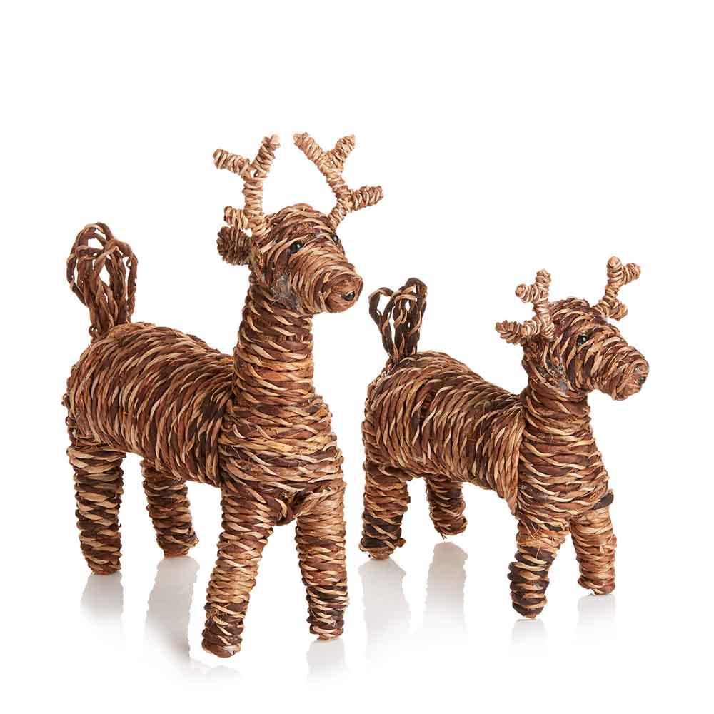 Eco Fiber Reindeer Set