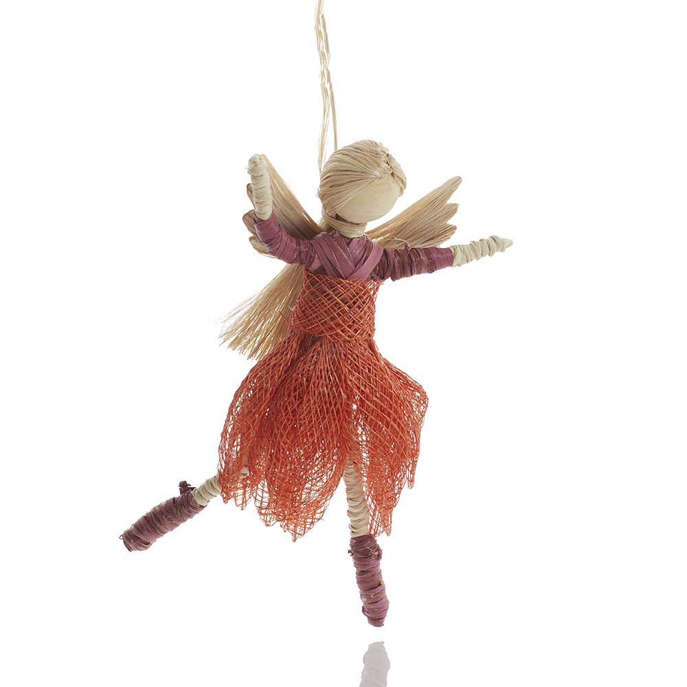 Dancing Angel Ornament - Clementine