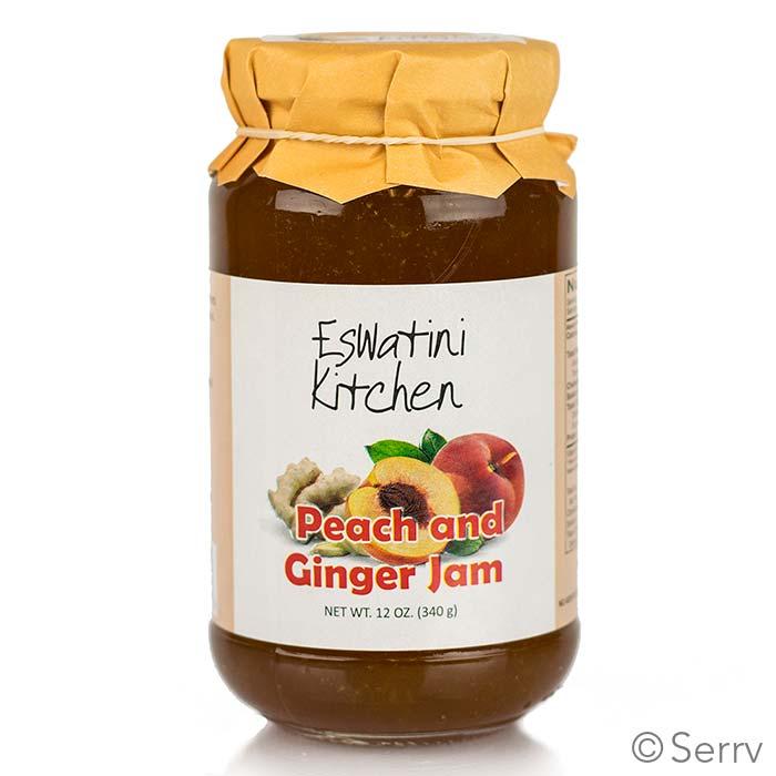 Peach 'n Ginger Jam
